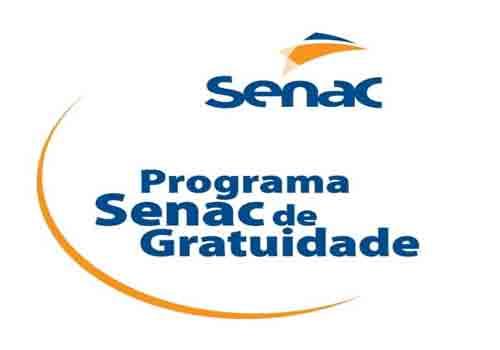 SENAC abre inscrições para cursos técnicos – totalmentegratuitos